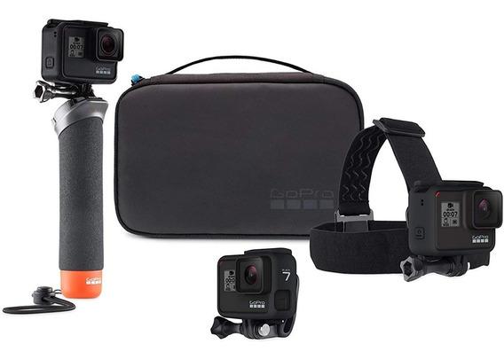 Kit Gopro Hero8 Black + Kit Aventura + Cartão Memória 32gb
