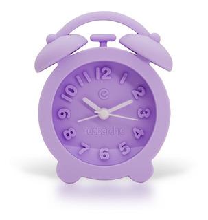 Reloj Despertador Silicona - Lila Violeta Rubberchic