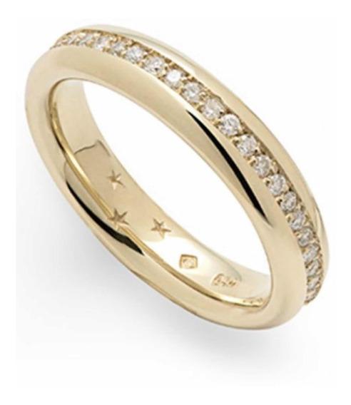 Aliança H.stern De Ouro 18k Com Diamantes 43% 12x S/juros