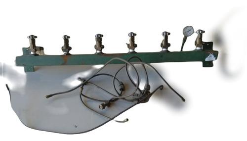 Imagen 1 de 3 de Varal Trasvasador Para Recarga De Tubos De Oxígeno 5 En 1