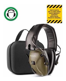 Abafador Eletrônico Awesafe Tiro + Óculos Nf Garantia 1 Ano