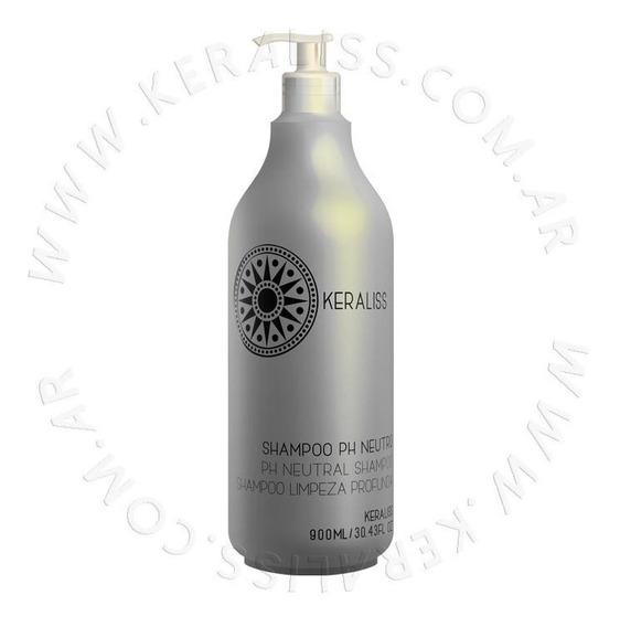 Keraliss Shampoo Ph Neutro Limpieza Profunda 900 Ml