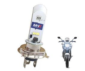 Lampada Led H4 Moto Super Branco Efeito Xenon 1800k Lumi