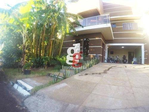Sobrado Com 3 Dormitórios À Venda Por R$ 1.480.000,00 - Terras De Santana Ii - Londrina/pr - So0030