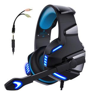 Audífonos Diadema Gamer Hd Led Estéreo 360° Ps4 Xbox One V3