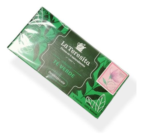 Imagen 1 de 1 de Té Verde Perder Peso Desintoxicar 20 Bol - g a $397