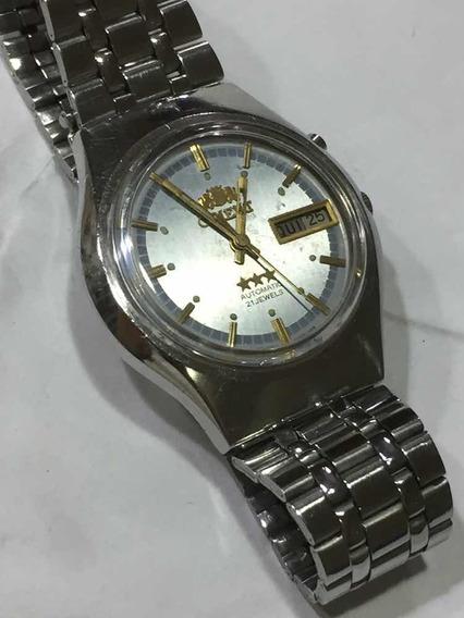 Relógio Original Automático Orient Masculino Perfeito