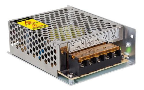 Imagem 1 de 2 de Fonte Eletrônica Cftv Intelbras Efm-1205 12,8v 5a Colmeia