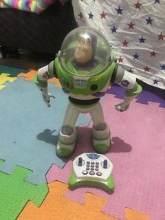 Juguete Toystory Muñeco Buzz-lightyear Radio Control Remoto