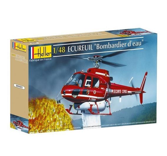 Ecureuil Bombardier D´eau - 1/48 - Heller 80485