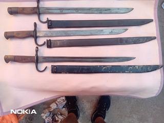 Bayonetas Japonesas Arisaka Originales Ii Guerra Mundial.