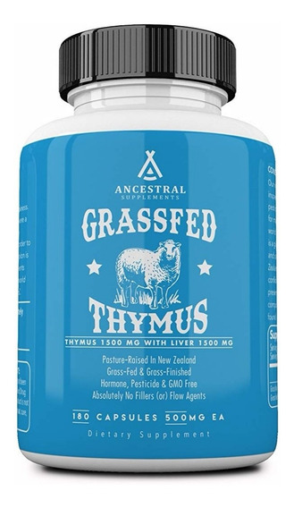 Ancestral Supplements Grassfed Thymus