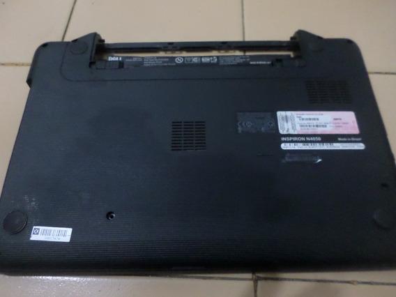 Carcaça Inferior Notebook Dell Inspirion N4050 Com Jack