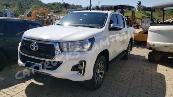 Toyota Hilux 2019 Cabine Dupla 4x4 Tem Passagem Por Leilão