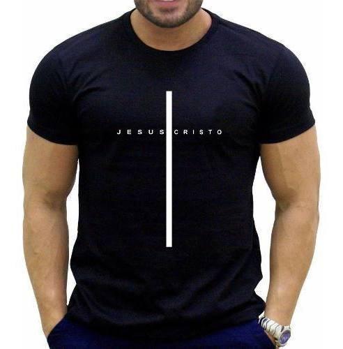 Camisetas Masculino Evangélica Crista Gospel Kit 5 Peças