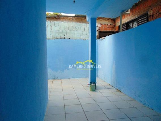 Casa Com 1 Dormitório Para Alugar, 70 M² Por R$ 750,00/mês - Parque Das Nações - Americana/sp - Ca2090