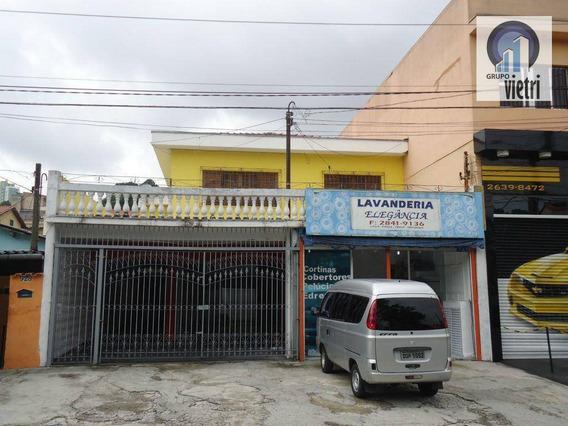 Sobrado Comercial Para Venda E Locação, Vila Amélia, São Paulo. - So0739