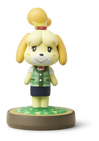 Amiibo Isabelle Summer Outfit Shizue Clothes 3ds Wiiu Switch