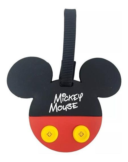 Identificador De Bagagem Mickey Tag Original