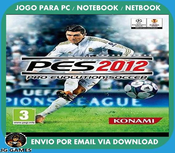 Pro Evolution Soccer Pes 2012 Pc Jogo Digital