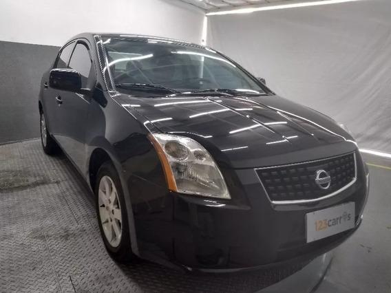 Nissan Sentra 2.0 Cvt Aut. 2008/2009 Completo Baixo Km!!!