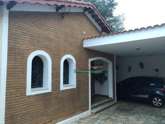 Linda Casa De Tijolo A Vista Com Quintal E Piscina - Ca2957