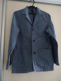 Blazer/casaco Unissex Gap Oxford Jeans 38/40 Usado