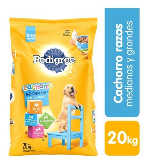 Alimento Perro Pedigree Cachorro X20k - kg a $7750