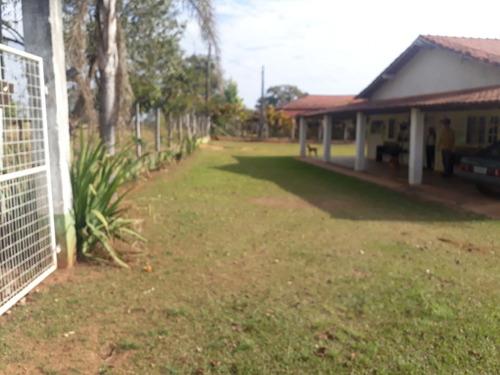 Imagem 1 de 14 de Chácara Em Tatuí,  Terreno 3600 M2 Casa 4 Dorm Ac 200m2