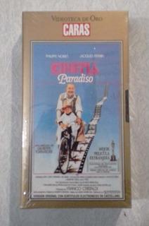 Pelicula Cinema Paradiso Coleccion De Oro Revista Caras Vhs