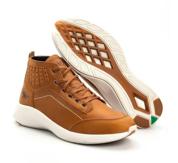 Tênis Coturno Masculino Cano Médio Jhon Boots Lançamento