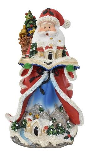 Imagen 1 de 1 de Santa De Resina Decoración Casa Oficina Navidad