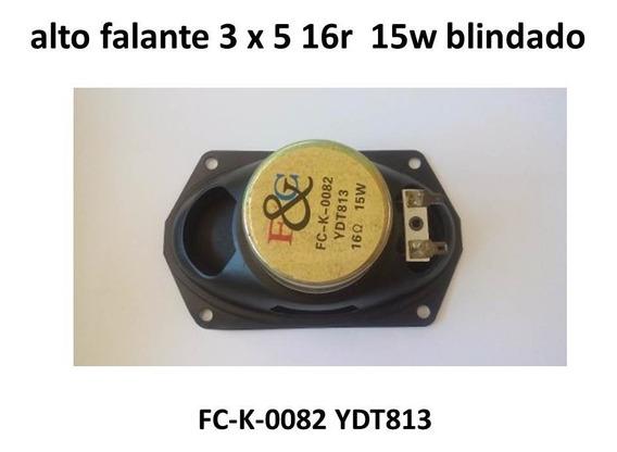 Alto Falante 3 X 5 16r 15w Ydt813 Blindado Lote 10 Peças