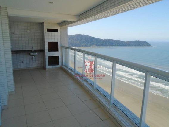 Apartamento Com 3 Dormitórios À Venda, 111 M² Por R$ 780.000 - Boqueirão - Praia Grande/sp - Ap2448