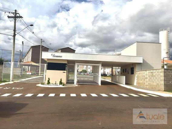 Apartamento Residencial À Venda, Viver Sumaré, Sumaré. - Ap4734