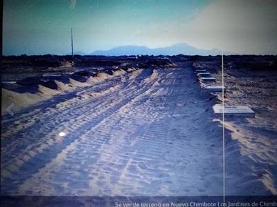 Vebdo Terreno En Nuevo Chimbote Urb.los Jardines De Chimbote