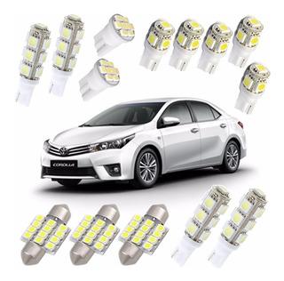 Kit Led Corolla Toyota 2016 2015 2014 2013 2012 2011 2010 09