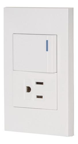 Imagen 1 de 4 de Placa Interruptor Y Contacto Linea Española Volteck 45591