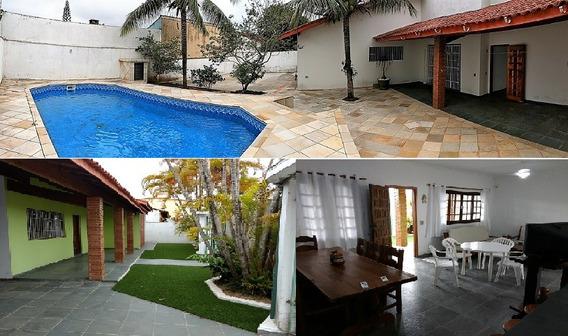 Casa 2 Quartos, 1 Suite, Piscina, Churrasqueira, Ar Cond