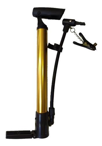 Inflador Para Bicicleta De Aluminio Con Soporte Incluido.