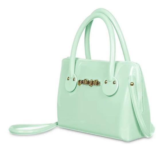 Bolsa Petite Jolie Infantil Petite Preta Rosa Azul-claro Verde-claro Original Pronta Entrega