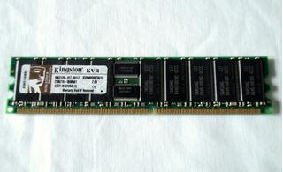 Kingston Kvr400d8r3a/1g 1gb Servidor Pc-3200 Ecc Reg 184-pin