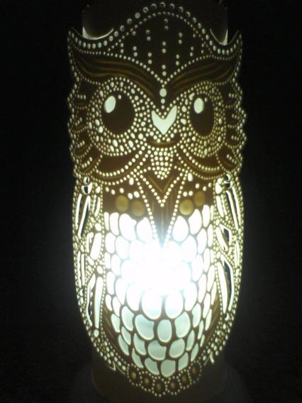 Luminária Pvc Coruja