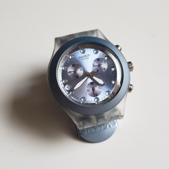 Relógio Swatch Irony Full-blooded Blue Alumínio