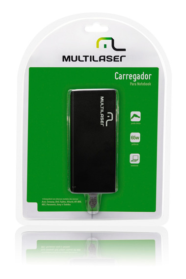 Carregador Notebook Multilaser 19v 65w - Cb010