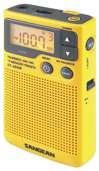 Radio Portatil Sangean Dt-400w Am/fm Digital