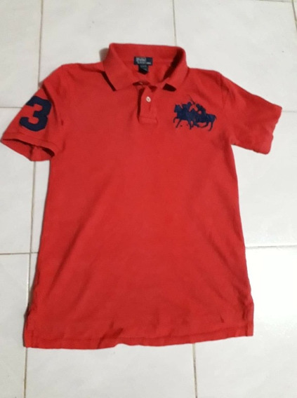Polo Ralph Laurent Dual Match Talla14-16 No Lacoste Hilfiger