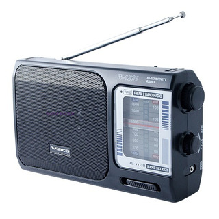 Radio Dual Am/fm Winco W1231