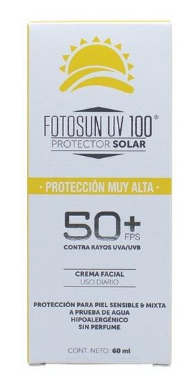 Protector Solar Facial Fotosun Uv 100 60ml Fps 50+