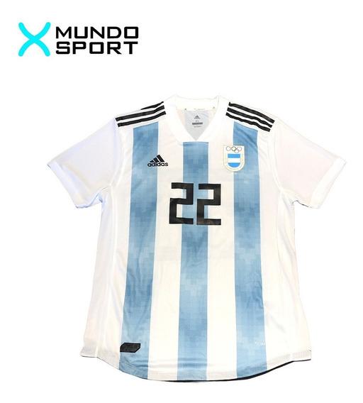 Camiseta De Argentina adidas Climachill Olimpiadas Numero 22